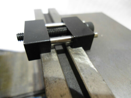 """Fits jaw 3//8/""""-1/"""" Made in USA Vise jaw work stop locator for milling vises"""