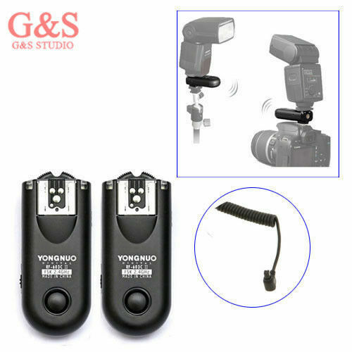 Charitable Yongnuo Rf-603 Ii Radio Wireless Remote Flash Trigger C3 For Canon 5d 1d 50d