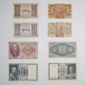 Riproduzioni Di Tutte Le Lire Imperiali Regno Vittorio Emanuele 1 2 5 10 Fds Unc 8j7cozyc-08001232-536721654