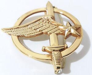 insigne de b ret commando arm e de l 39 air commandos de l 39 air france ebay. Black Bedroom Furniture Sets. Home Design Ideas