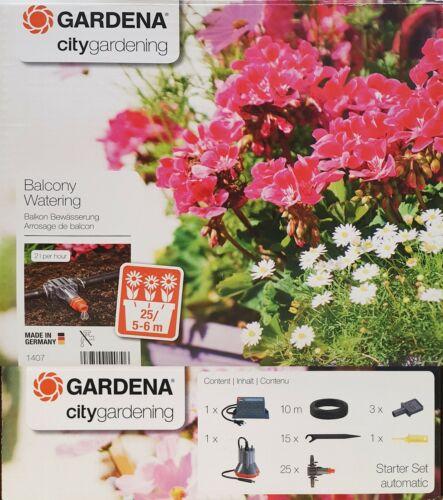 GARDENA 1407 city gardening  ideal zur vollautomatischen Bewässerung Neu und OVP