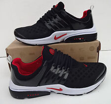 Nike Air Presto Mens Size 10 Black Red Trainers Shoes Shox # BRAND NEW