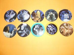 336 Pogs Pog Caps Milkcaps Flippo : Lot De 10 Taps Capser