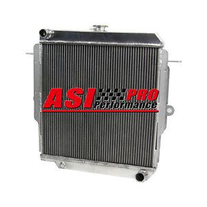 4-ROW-Aluminum-Radiator-For-Toyota-Land-Cruiser-75-Series-HZJ75-90-01-Manual-AU