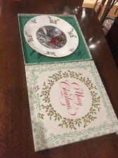 Royal Doulton Christmas Plate Santa Claus Poem Fine Bone China 1980 Box