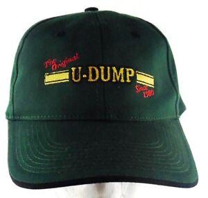 The-Original-U-DUMP-Since-1980-Strapback-Adjustable-Green-Hat-Cap-Ocala-FL