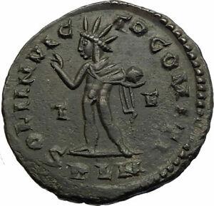 CONSTANTINE-I-the-GREAT-Original-Authentic-Ancient-310AD-Roman-Coin-w-SOL-i77169