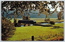 Old Covered Bridge Philippi, West Virginia Barbour County Chrome Postcard Unused