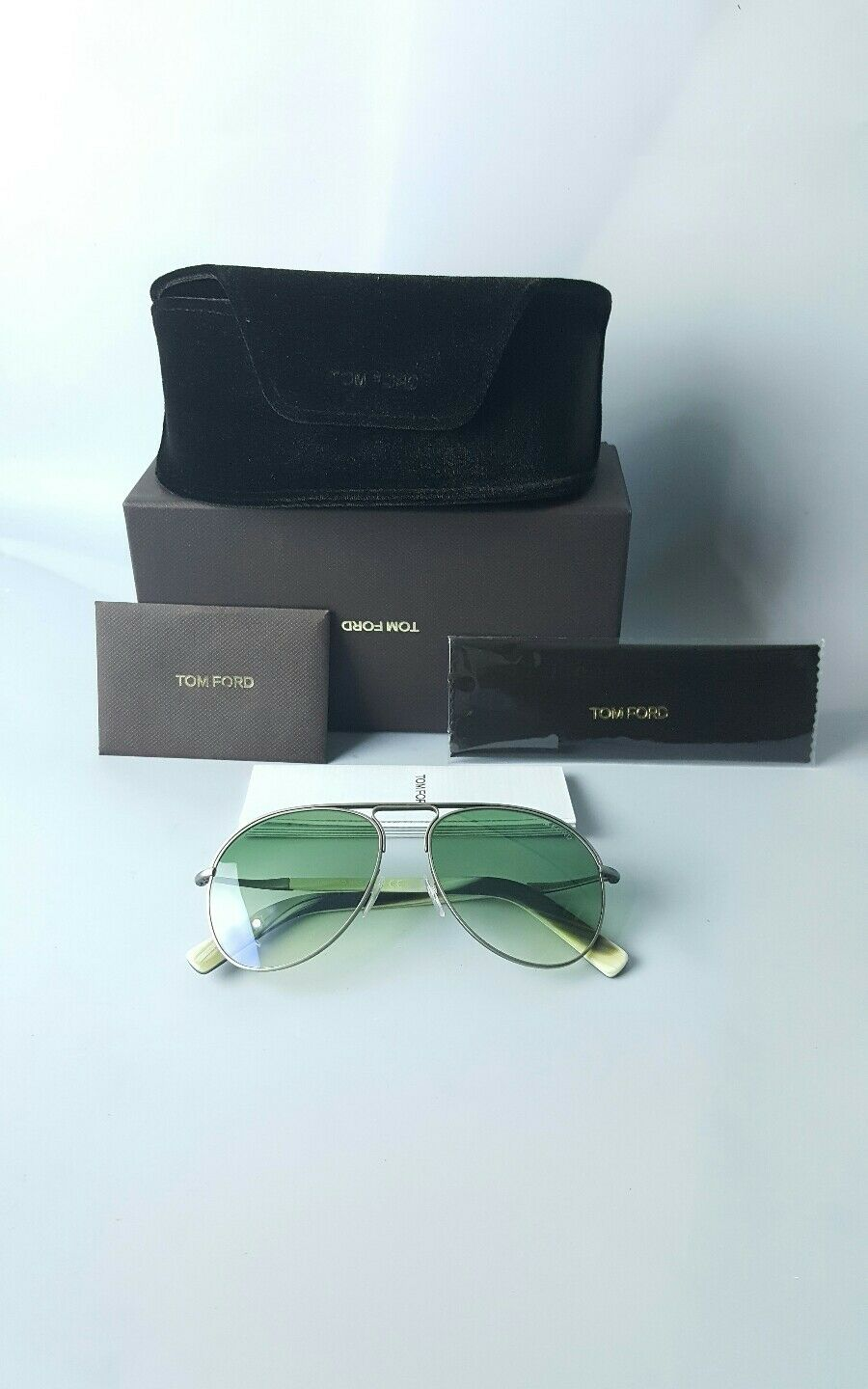 80d8954dcfc6f Tom Ford Cody Ft0448-14p Ruthenium   Green Gradient Sunglasses for ...
