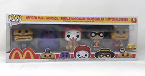 Funko-Pop-Ad-Icons-5-Pack-McDonald-039-s-Exclusive-Limited-Edition-5PK