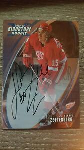 2002-03-BAP-Signature-Series-Autographs-190-Henrik-Zetterberg-rookie-card-RC