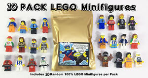 LEGO-10-Minifigures-from-Huge-Lot-Bulk-Minifigs-City-Town-Pirates-Girl-Boy-NEW