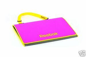 Colchoneta-Fitness-Reebok-Tri-Fold-Mat-Rosa-Azul-Transpirable-Deporte-Gimnasio