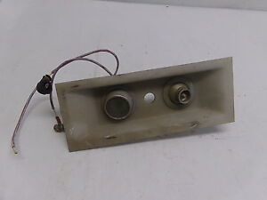 WEMAC AIRCRAFT LIGHT / CABIN AIR VENT PANEL - PART AS IS ...