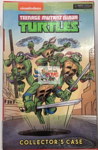 Teenage Mutant Ninja Turtles collector case San Diego comic-con 2017 Neca Teenage Mutant Ninja Turtles ** pas de chiffres **