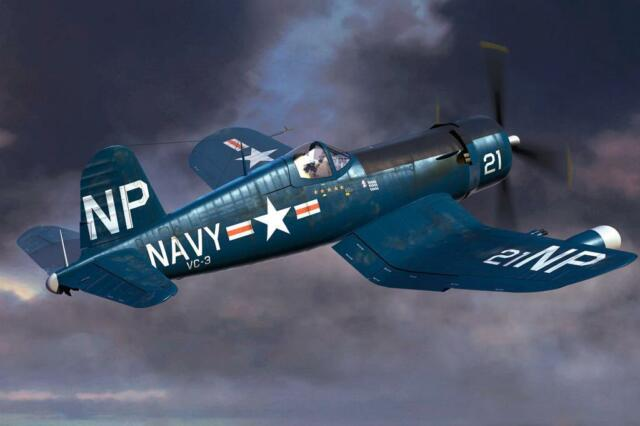 F4U-5N Corsair frühe Version F4U-5N Corsair early version 1:48 Hobby Boss 80390