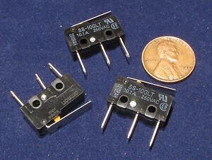 3-pcs-Omron-SS-10GLT-Micro-Switch-NC-NO-10A-125V-250V-AC-Momentary-Lever-SPDT-E