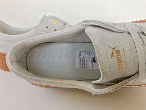 Nouveau By Rihanna Homme en daim blanches Fenty Creepers étoiles Chaussures tailles toutes Puma rMIqrA