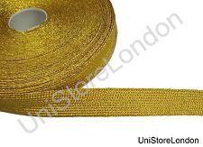 Braid French Braid  Mylar Lace Gold 19mm 3/4 inch R1433