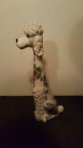 Hundefigur glasiert Keramik Pudel - Berlin, Deutschland - Hundefigur glasiert Keramik Pudel - Berlin, Deutschland