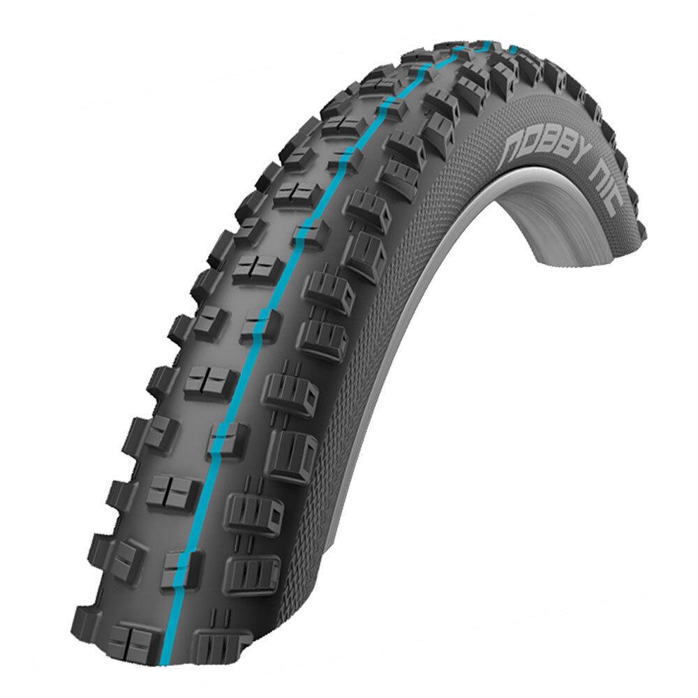 Neumáticos Schwalbe Addix Nobby nic 27,5 x 2.8 TL-e SS spgrip apex f evo SZ azul