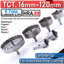 16 120mm Tct Carbide Hole Saw Cutter Forstner Bit Cutter Drillfor Alloy Wood Us