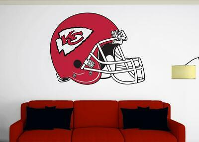 KANSAS CITY CHIEFS Fan Vinyl Sticker Decal *MANY SIZES* Bumper Cornhole Truck