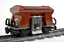 LEGO Train Coal Hopper Wagon Railway Carriage From Cargo City Set 60098 NEW