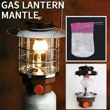 30pcs Universal Outdoor Camping Gas Lantern Lamp Mantles Tent Light Cover T0W3
