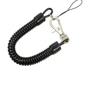 1PC-Plastic-Spring-Coil-Spiral-Stretch-Ring-Key-Chain-Keychain-Retractable-UKPL