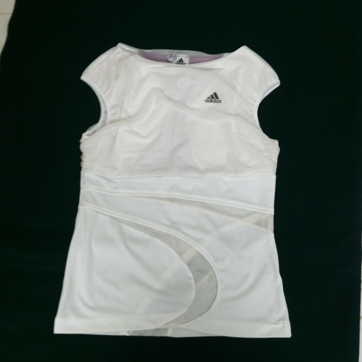 NEW w o tag ADIDAS CLIMA365 TENNIS TOP. SIZE  Women's S. color  White.