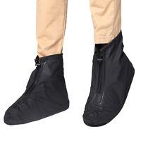 Reusable Rain Shoe Covers Waterproof Shoes Overshoes Boot Gear Anti-slip