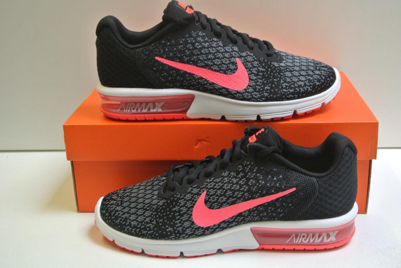 Wmns Nike Air Max Sequent Sequent Max 2 Tamaño Seleccionable Nuevo & Emp Orig 852465 006 5cc045