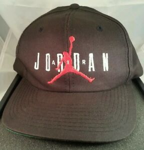 1525a6ba8e7b50 Michael Jordan 23 Vintage Hat 1990s Air Jordan Black Cap Nike ...