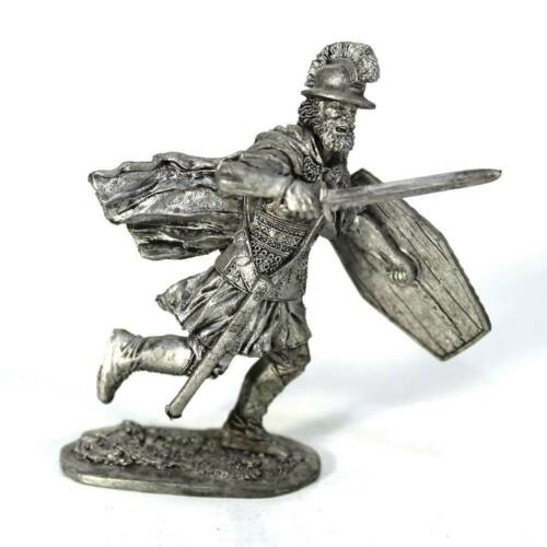 """#A69 Tin toy soldier /""""Celtic warrior 54mm Central Europe V BC/"""" 1//32"""