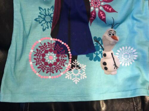 DISNEY  FROZEN PJ DRESS BLUE Anna PAJAMAS  Sisters SIZE 4T /& 9//10