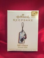 Mp3 Player 2006 Hallmark Ornament - Personal Audio - Ipod - Apple -
