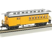 Bachmann 13503 Ho 1860-1880 Combine Painted Unlettered Yellow Passenger Car on sale