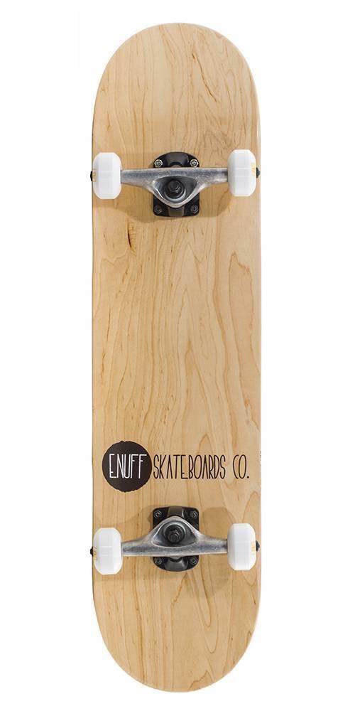 ENUFF ENUFF ENUFF Logo Stain Skateboard Complete natur NEU 84673 70986b