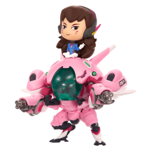 Official Overwatch D.va With Meka Cute But Deadly Medium Figure Collectible