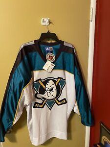 NEW-Vintage-Starter-Authentic-Anaheim-Mighty-Ducks-Jersey-Rare-XL