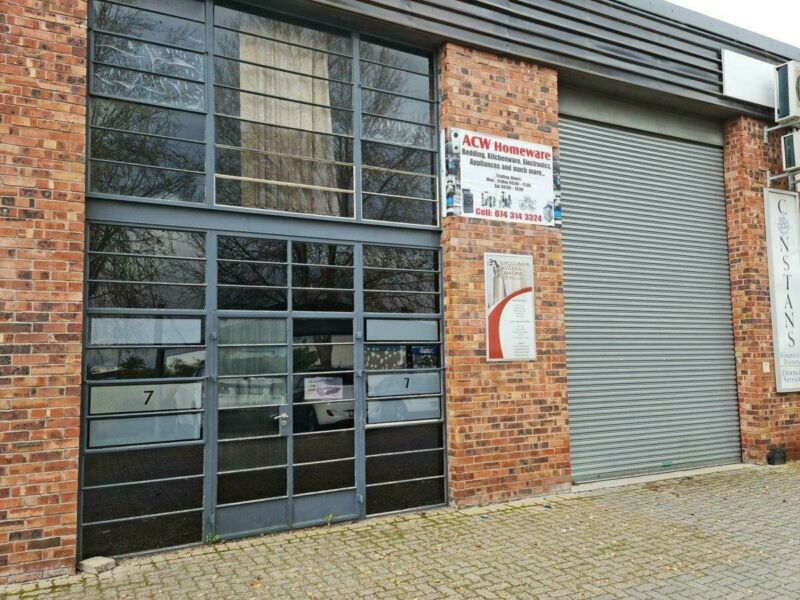 318m2 Industrial Factory TO LET in Saxenburg Park