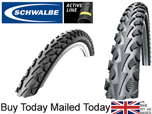 Schwalbe Landcruiser 24 x 1.75 2.0 Off Road Wheelchair Tyre 47-507 Anti Puncture