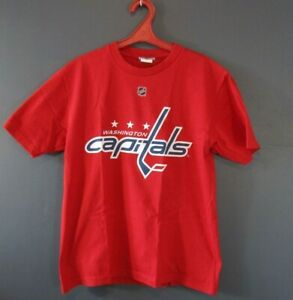 best loved 98c69 d62e7 Details about WASHINGTON CAPITALS OVECHKIN #8 NHL HOCKEY JERSEY SHIRT  REPLICA MENS SIZE M 5/5