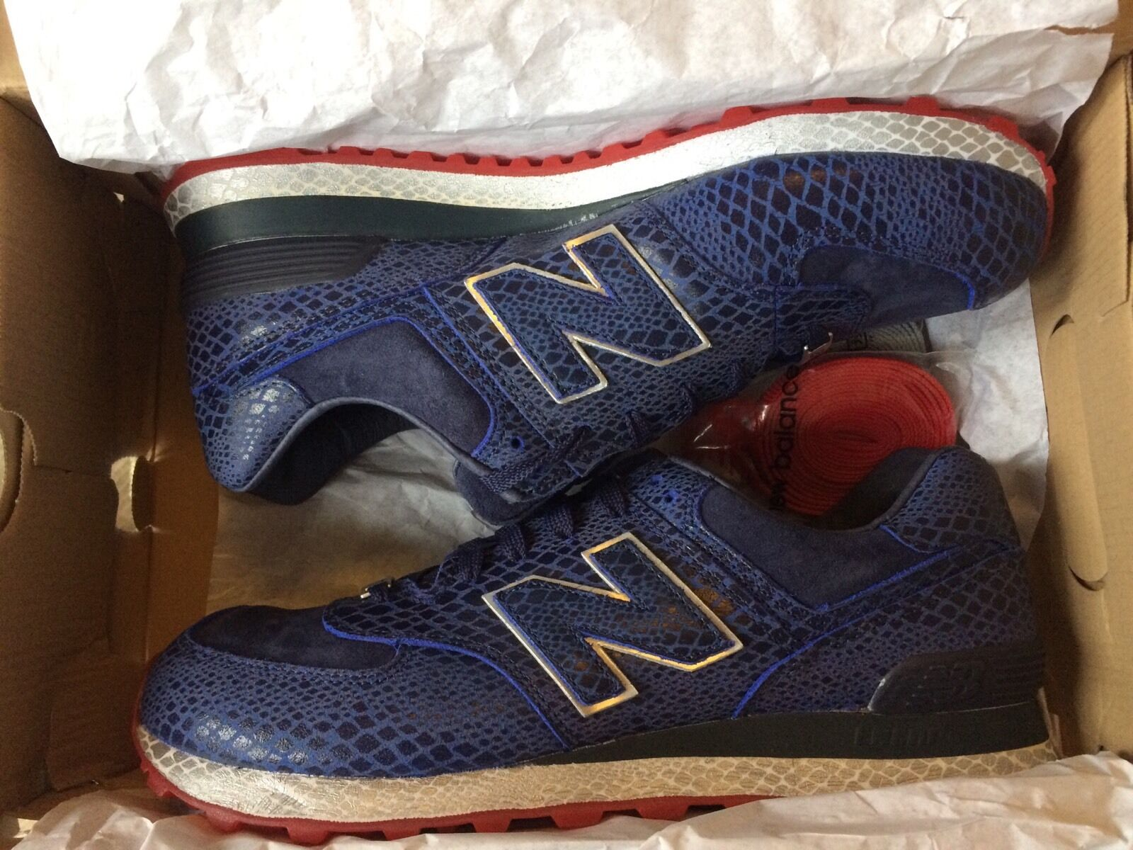 New Balance 574/710 X Appât G.I. Joe Twin Pack Limited Limited Limited Edition UK11.5 US12 | Exceptionnelle
