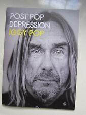 IGGY POP Post Pop Depression  Press Book with CD Sealed