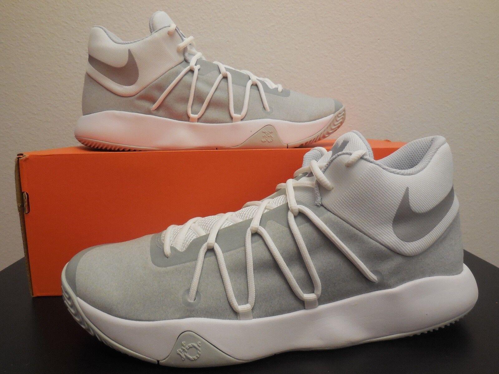 7dfd8120f91 Nike KD Trey 5 V Men Basketball Shoes White chrome Pure Platinum ...