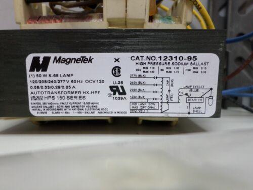 Magnetek 12310-95-500K 50W S-68 High Pressure Sodium Ballast Kit 120//277V