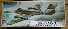 Airfix 1/72  METEOR III  268    Red stripe