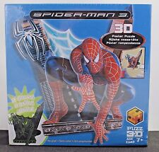Spider-Man 3 Poster Puzzle 3D Puzz 36 Pieces 10 Foam Sheets Glows New Sealed